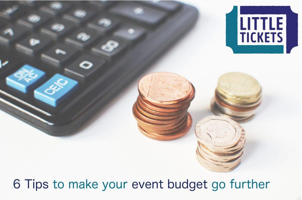 make your event budget stretch