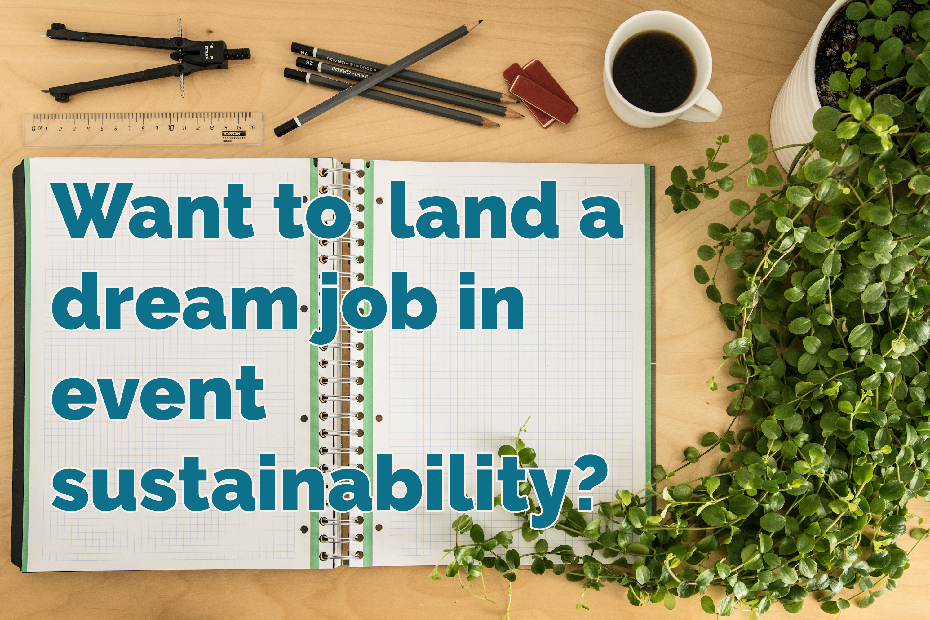 how to land a event sustainability job